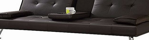 Popamazing Luxury Faux Leather Sofa Bed - 3 Seater Sofa Bed with Fold Down Drinks Table (Brown) No description (Barcode EAN = 6916237790239). http://www.comparestoreprices.co.uk/latest1/popamazing-luxury-faux-leather-sofa-bed--3-seater-sofa-bed-with-fold-down-drinks-table-brown-.asp