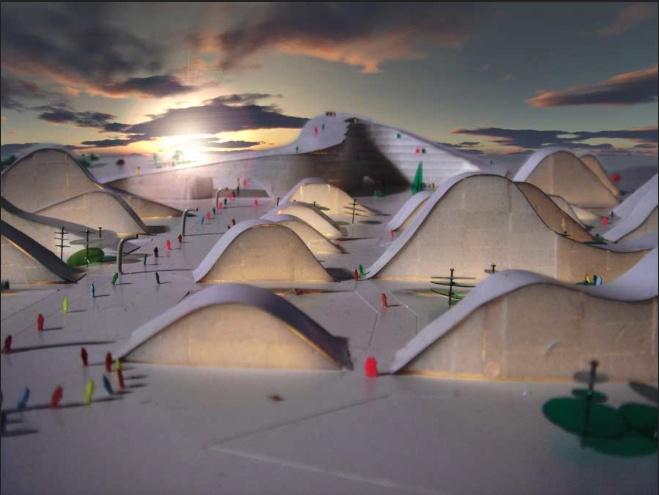 Trysil ski resort norwegian ski resort development for Ski designhotel