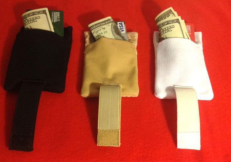 Hidden Money Safe 3 Stash Bra Travel Pocket Pouch Secret Panties Lingerie secur #Handmade