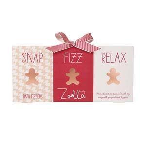Zoella Gingerbread Bath Fizz Gift Set