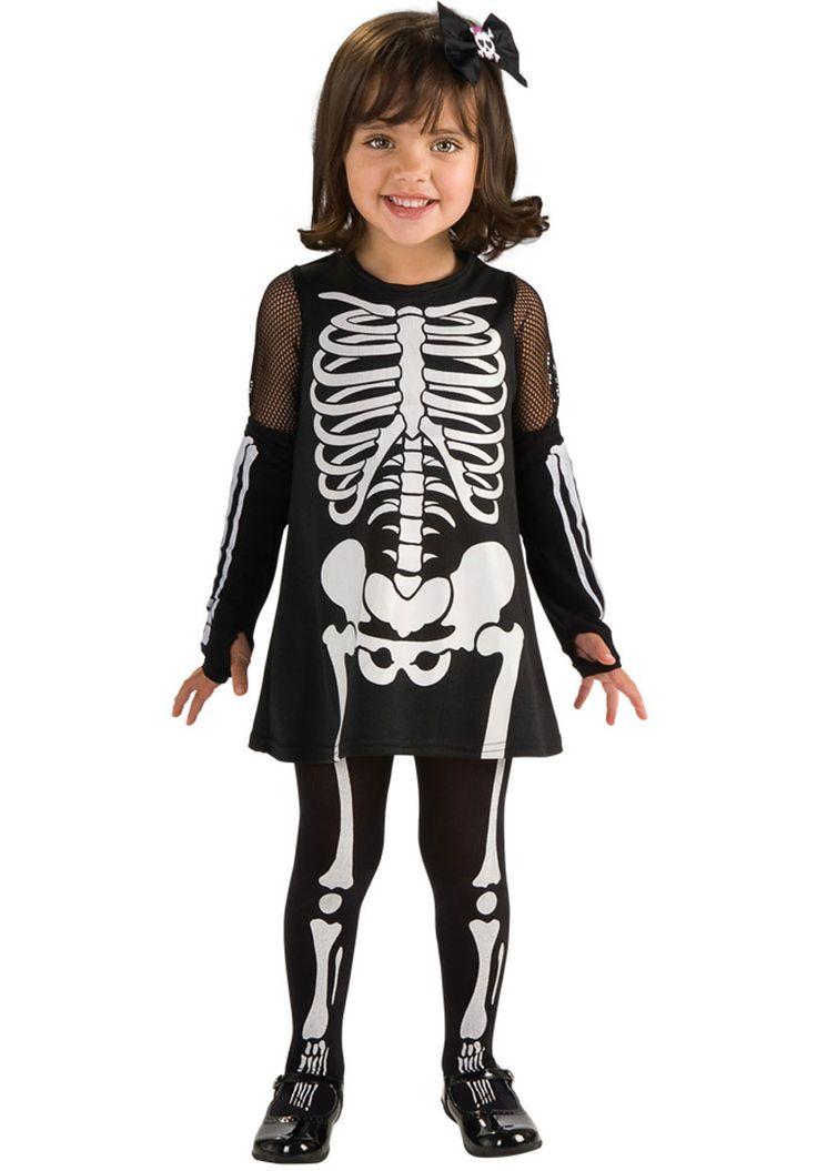 Toddler Girl Skeleton Costume - Child Halloween Costumes at Escapade™ UK - Escapade Fancy Dress on Twitter: @Escapade_UK