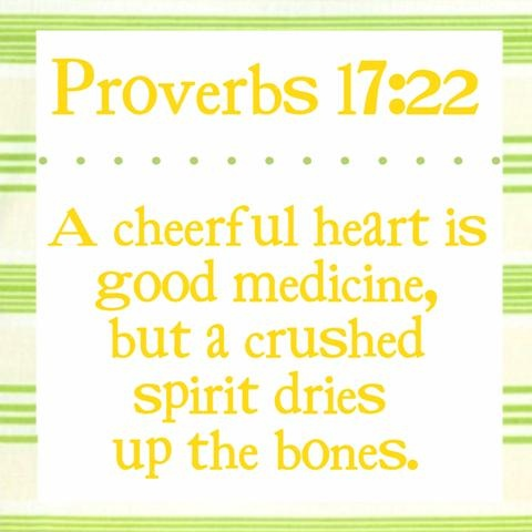 Bible Verses About Friendship Proverbs 17 v22