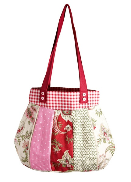 _3x LEICHTES Schnittmuster in 1 Packung für verschiedene Patchwork-Handtaschen von BURDA_    Diese wunderschönen verschiedenen *shabby chic* -Handt...