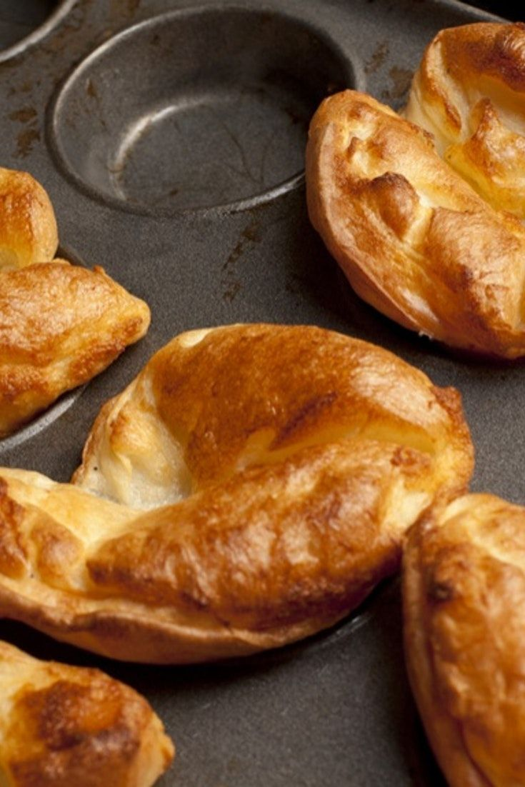 Homemade yorkshire pudding is a great addition to any roast...