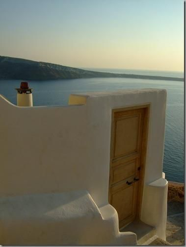 Oia, Santorini- Door to the sea