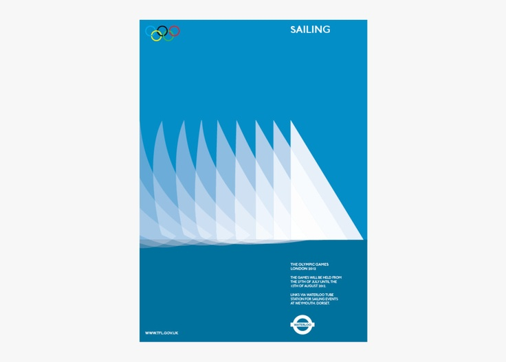 Alan Clarke, graphic design, poster 2012 Olympics, tube posters, transport for London