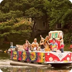 pontoon boat parade the theme for this years july 4th celebration at ...