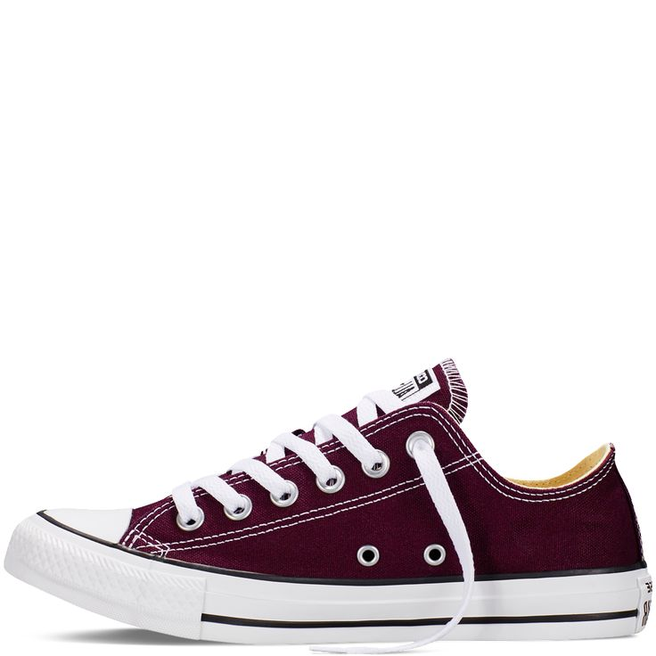 Converse - CT All Star Fresh Low Canvas Sneakers - Black Cherry