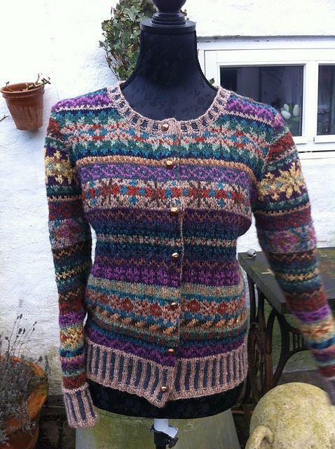 384 best Fair Isle Knitting images on Pinterest | Fair isle ...