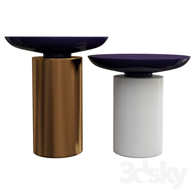 3d Models Table Minotti Side Table Side Table Accent Side Table Ultra Modern Furniture