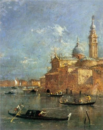 San Giorgio Maggiore - Francesco Guardi
