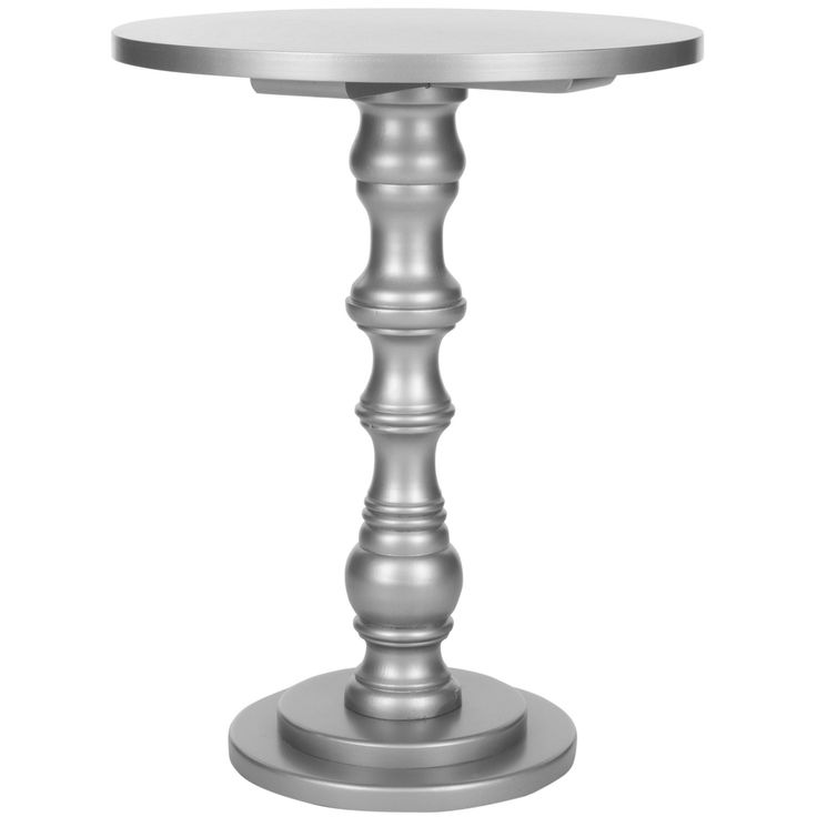 Safavieh Greta Silver Accent Table | Overstock.com Shopping   The Best  Deals On Coffee