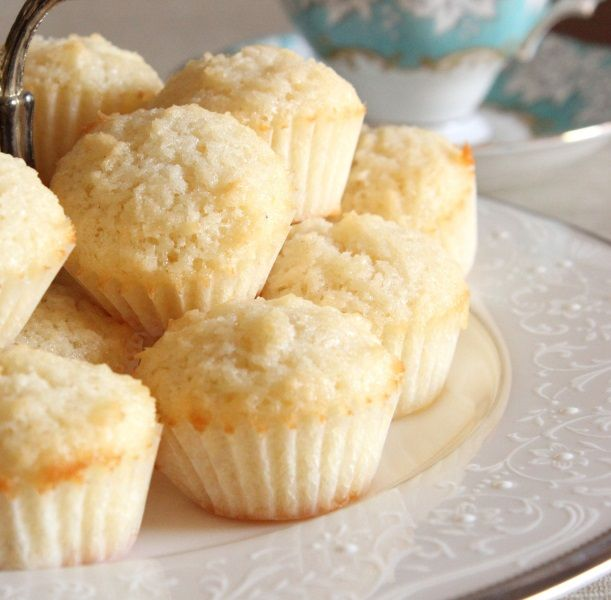 Coconut Friands.