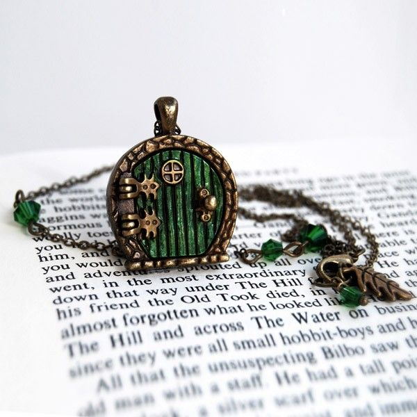 Bag End Locket Necklace Helps You Keep the Shire Close To Your Heart