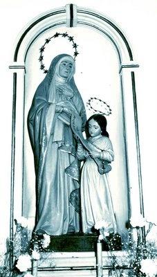 Imagem da Senhora Sant`Ana.