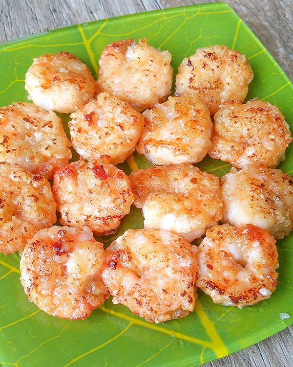 This super delicious pan-fried crispy lemon butter shrimp is ready to eat in…