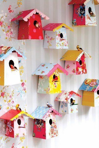 Déco chambre enfant/ado - Cabanes à oiseaux.