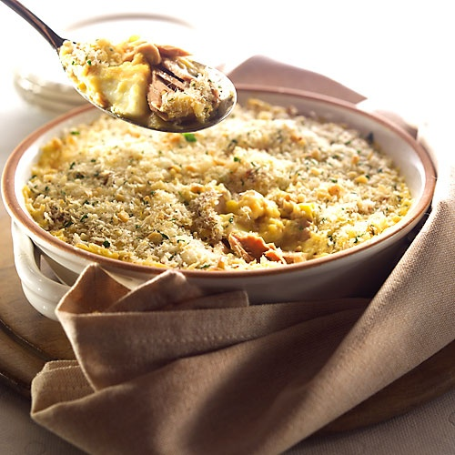 Simply Great Meals / Recipes / Tuna & Creamed Corn Mornay