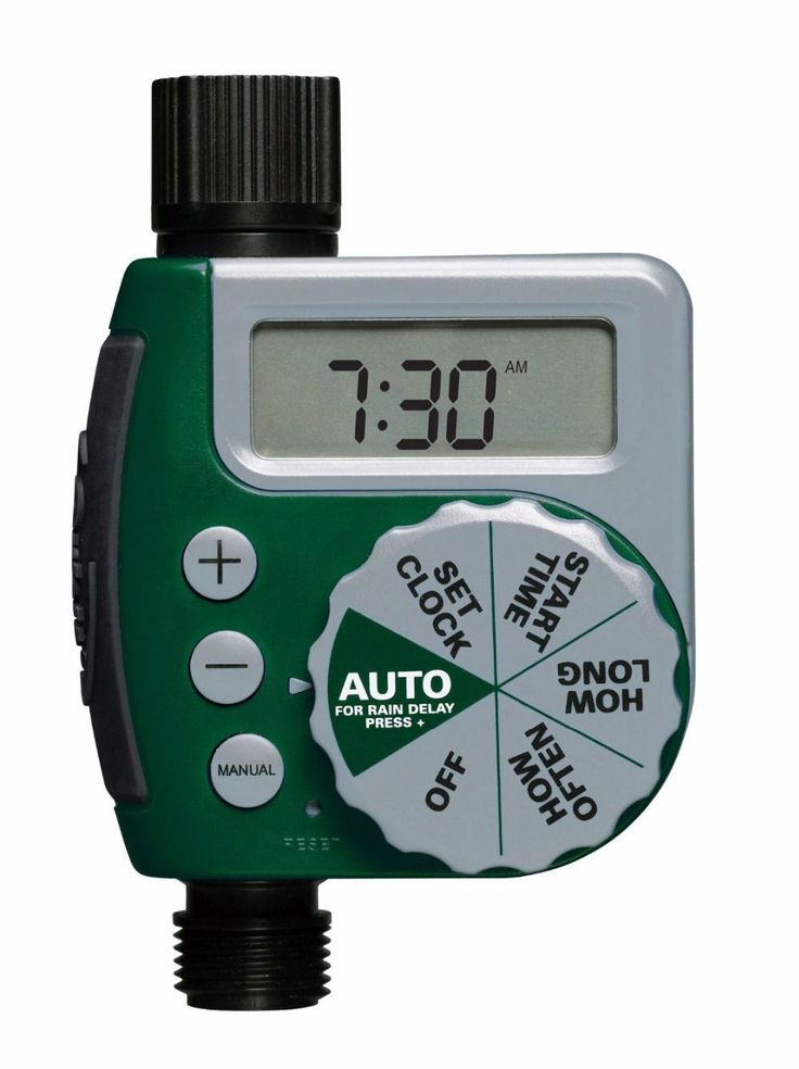 Large LCD Electronic Water Timer Garden Automatic Irrigation Controller Single-Dial Watering Timer #wateringtimer