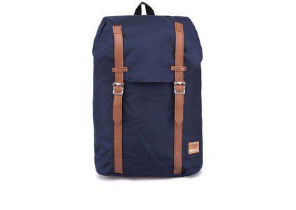 Tmavě  modrý unisex batoh Spiral Classic Hampton
