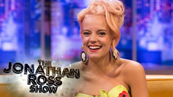 Lily Allen Performing With Miley Cyrus - The Jonathan Ross Show