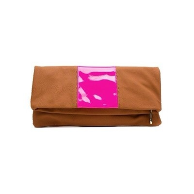 Steve Madden Neon Stripe clutch - sold out in stores but on eBay.