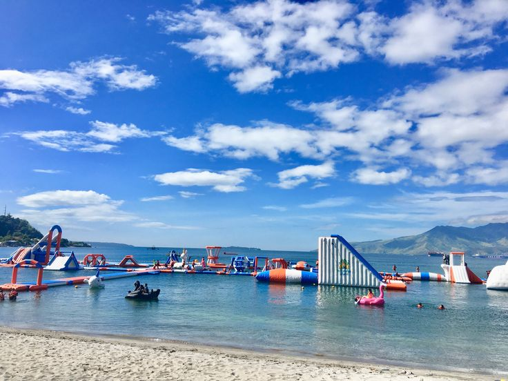 Inflatable Island Ph @ Subic Bay Waters, Olangapo City