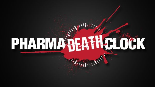 Pharma Death Clock website launched: Find out how many millions of people Big Pharma has killed since January 1, 2000