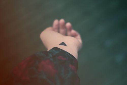 Triangle #tattoo