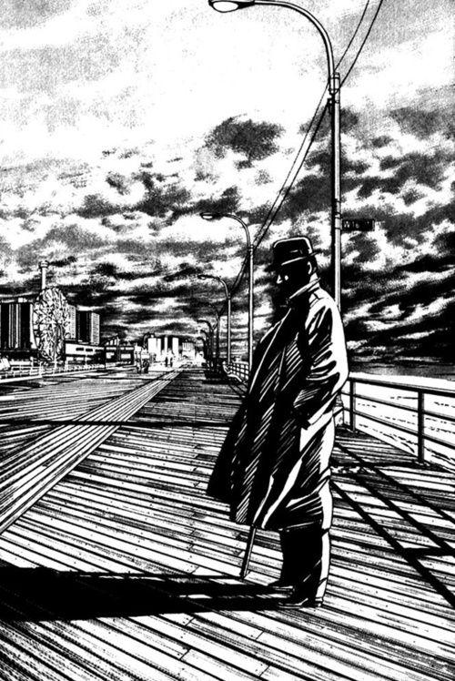Jiro Taniguchi, Benkei in New York.