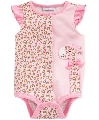 Baby Girl Stuff: First Impressions Baby Girls' Giraffe Creeper, Onl...