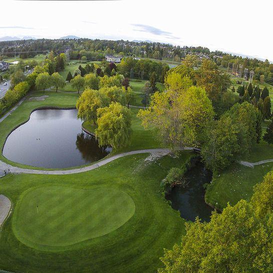The beauty of golf landscape