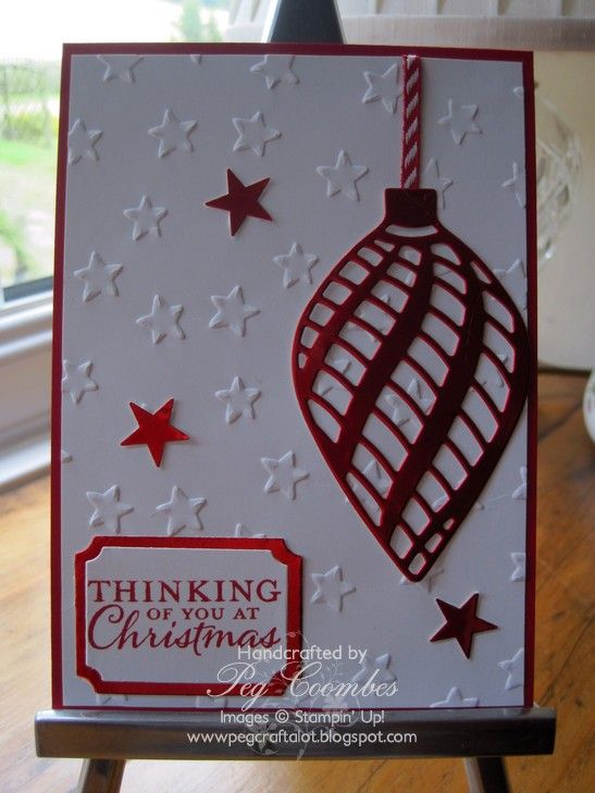 stampin up delicate ornaments 2015 - Google Search
