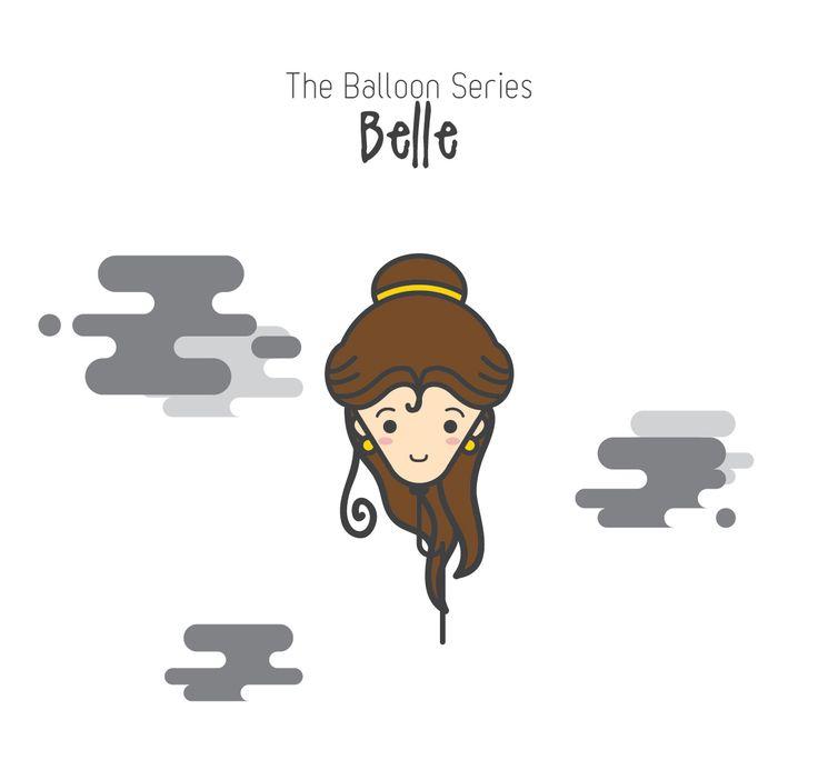 The Balloon Series - Belle