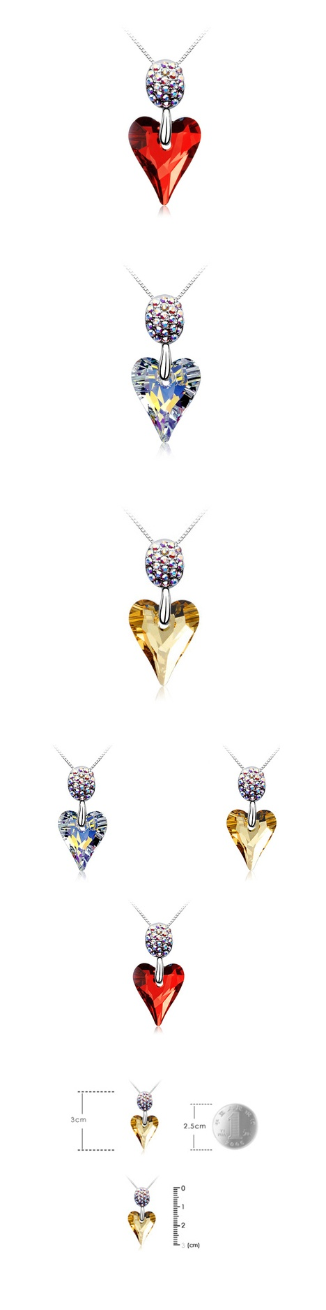 MOTHER'S DAY SPECIAL: 62% OFF Necklace made with Pure Brilliance Swarovski Elements (3 choices) + FREE Nationwide Delivery @ Sugar House 928 for only RM75 instead of RM199!