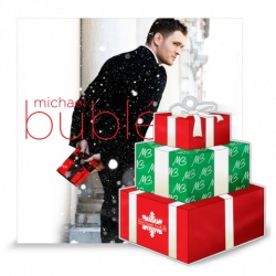 This makes me so stinkin' happy - Christmas & Michael Buble` - 2 of my favorite things!