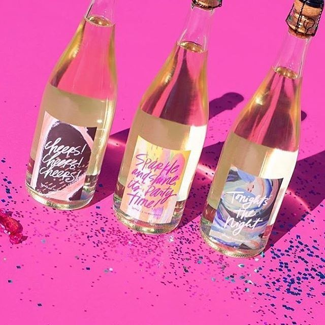 Here it is friends! Our recent collaboration with @speakwines is live and ready for you!! We love the labels we designed for their sparkling wine debut!!!! It's perfect for gifting, holiday parties and much more! This collaboration is limited and will only be available until January 15, so hop over now to speakwines.com to snag a few before they're all gone! We are so proud of this and we know you will love it! It's delicious, sweet and bubbly! Head over to Speakwines.com to learn more and…