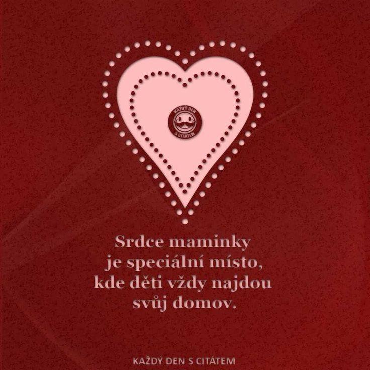 citáty - srdce maminky je speciální