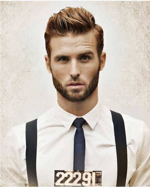 Pomade Hairstyles richard pier petit Brushed Up This Hairstyle Is A Bit Longer But Keeps The Hair On The