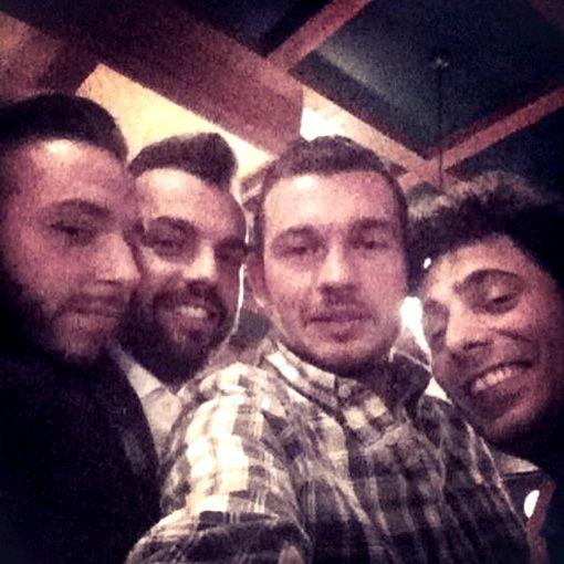 """""""Eravamo 4 amici al bar"""", festeggiamenti 1 mese di attività con: Jody Brazzarola, Marco Pinotti, Fabio Pizzolato, Luca Ogheri"""
