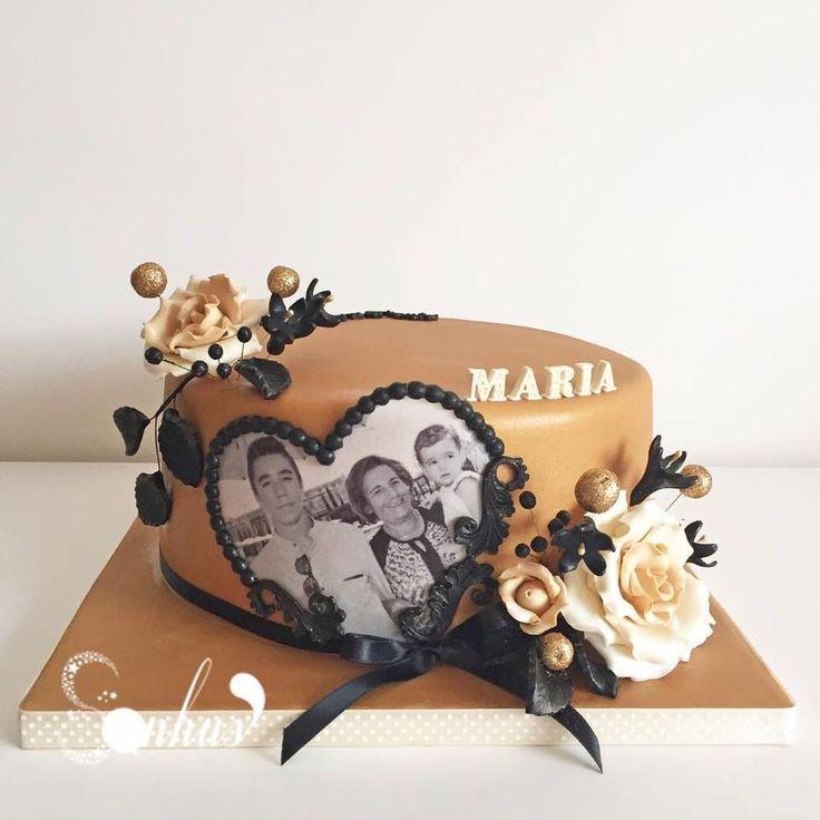 flower cake | SONHUS - CAKE DESIGN | Pinterest | Cakes, Flower and ...