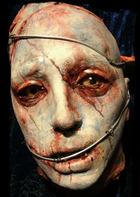 zombie head special effects makeup fx - Halloween Effects Makeup