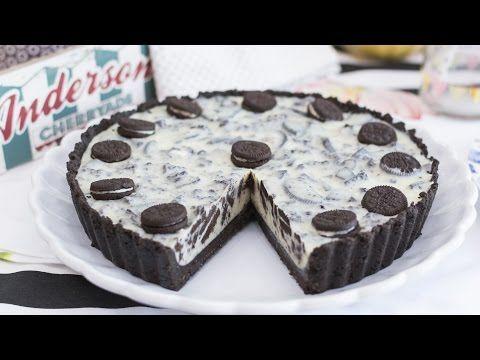 Cheesecake o tarta fría de Oreo   Sin horno, sin gelatina y sin complicaciones   Quiero Cupcakes! - YouTube