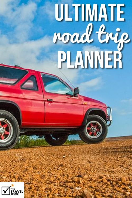 Ultimate Road Trip Planner: Travel Checklist for a Car Journey