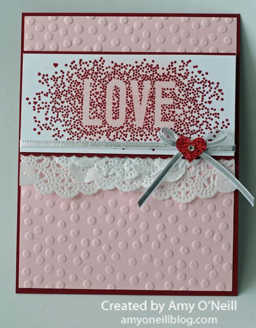 Amy O'Neill: Amy's Paper Crafts - Season of Love - 8/24/14 (Holiday 2014: Seasonally Scattered)