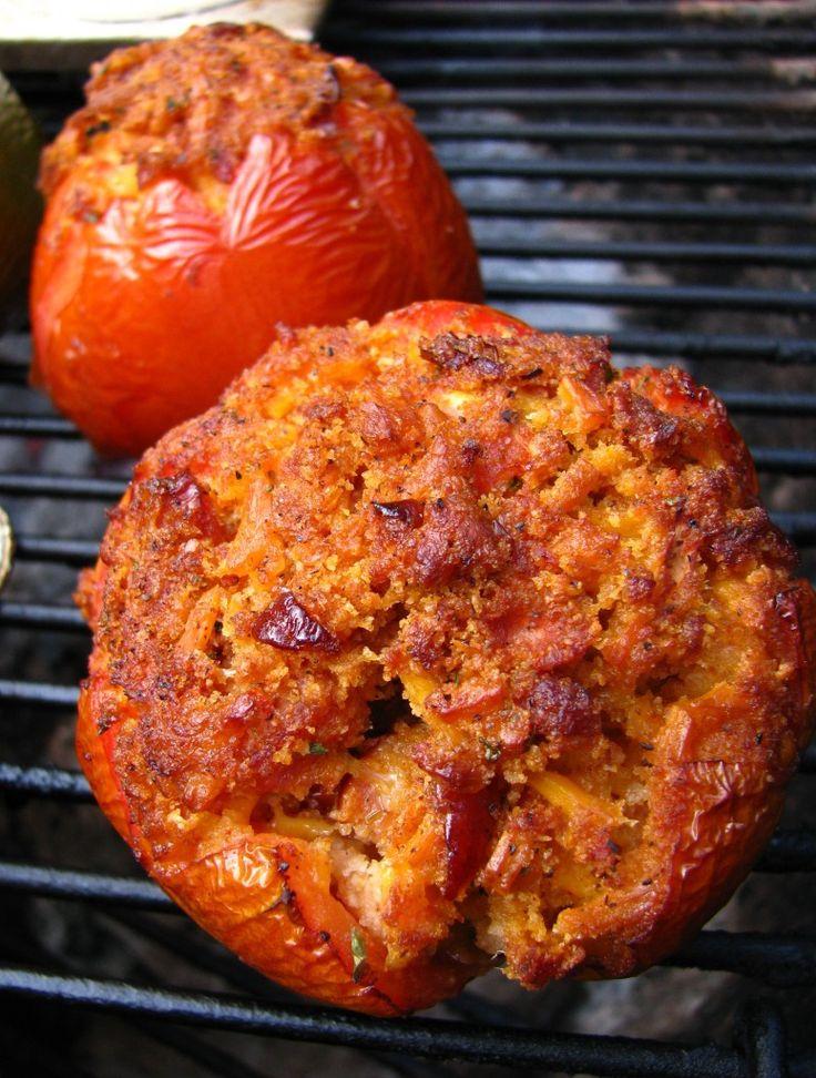 Venite tariffa peperoni ripieni alla griglia, vieni tariffa i pomodori ripieni Sulla griglia, venire griglia stufffed peperoni, peperoni ripieni sul We ...