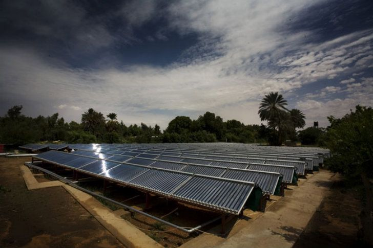 Solar-Powered Salam Cardiac Centre is a Shipping Container Med...