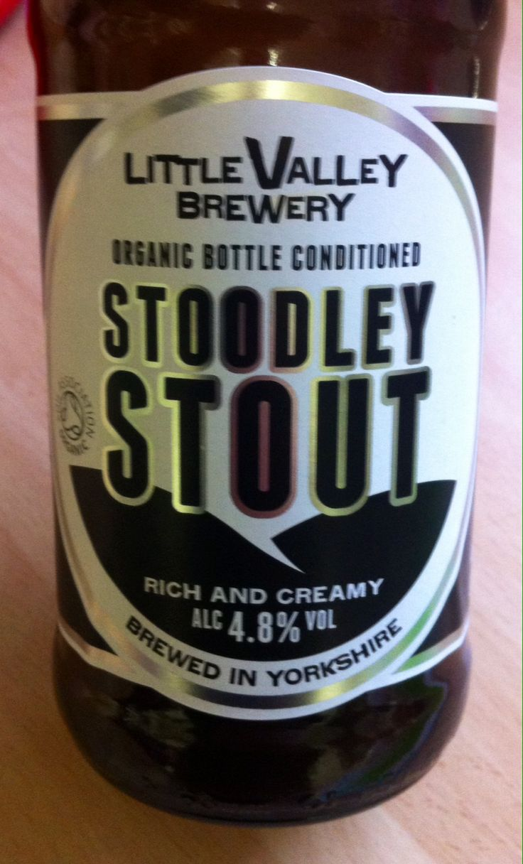 Stoodley Stout. ABV 4.8%. Little Valley Brewery,  Hebden Bridge, West Yorkshire. 8/10