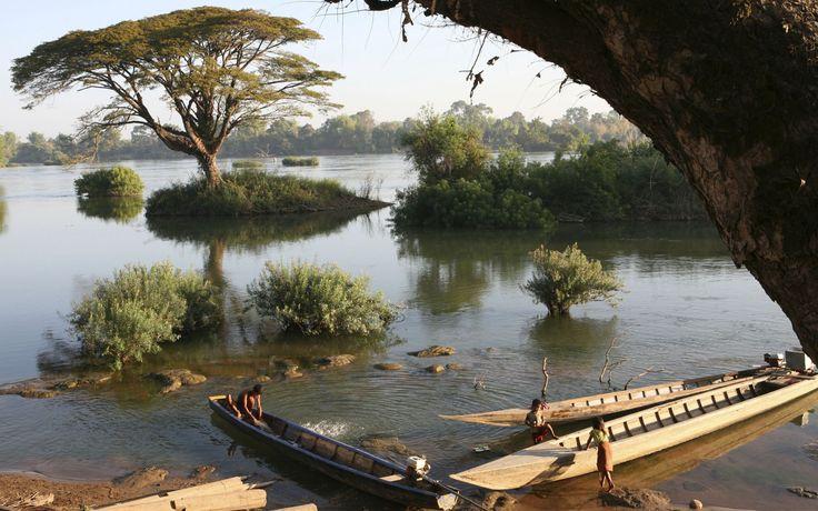 Sin Phan Don 4000 Island in Laos: Don Khong, Don Det and Don Khon Island