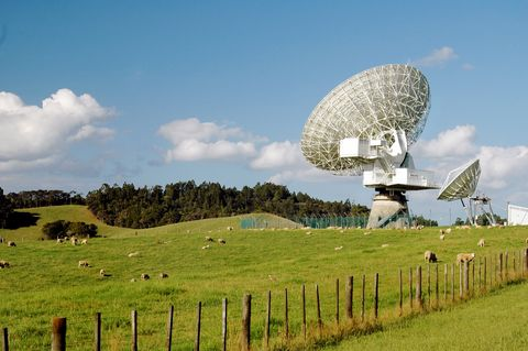 """Mysterious Space Signal Indicates """"Missing Matter"""" in…They have only ever detected a few of these types of signals.  And apparently this one is changing the scientific modeling of a lot of astronomy departments.  Basically an FRB is a fast radio burst.  They still do not know for sure where they come from but the majority of astronomers think they come from pulsars.  However, there is debate amongst the astronomy and space fan communities alike."""
